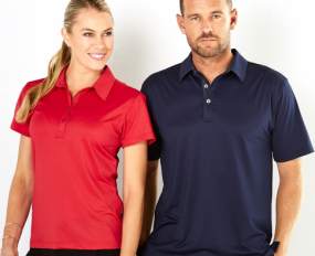 1159 Argent Polo Ladies SS