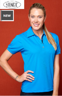 1162 Superdry Polo Ladies SS