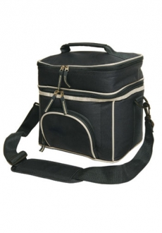 B6002 Double Layer Lunch Picnic Cooler Bag