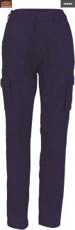 3322 Ladies Cotton drill Cargo Pants