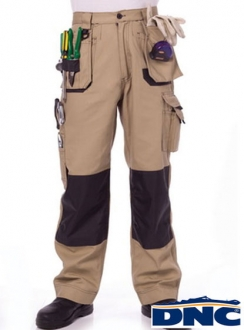 3337 DNC Duratex Cotton Duck Weave Tradies Cargo Pants