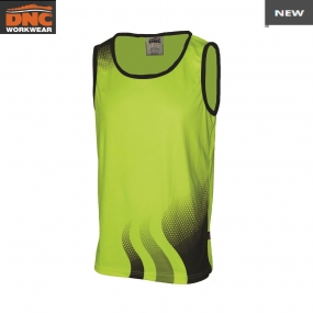 3561 Wave HiVis Sublimated Singlet