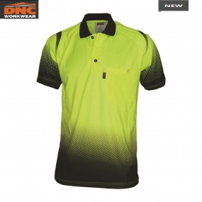 3568 Ocean HiVis Sublimated Polo