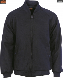 3602 Bluey Jacket with ribbing