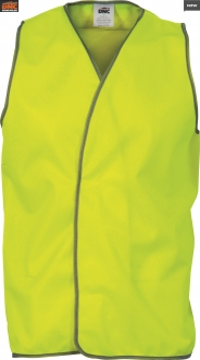 3801L Daytime HiVis Safety Vest Large