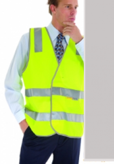 3803L Day/Night HiVis Safety Vest Larger