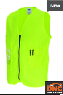 3806 Daytime Side Panel Safety Vest