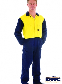 DNC HiVis Cool-Breeze Light Weight Cotton Coverall