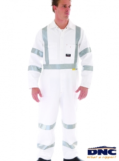 DNC RTA Standard Night Worker Coveralls with 3M8910 R/Tape