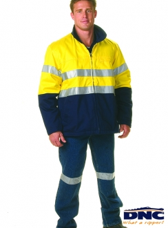 DNC HiVis Protector Drill 3M Jacket