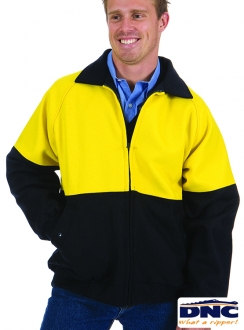 DNC Wool Blend HiVis 3M Bluey Jacket