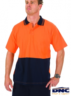 DNC HiVis Cool-Breeze Cotton Food Industry Polo