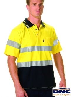 DNC HiVis Cool-Breeze Cotton 3M Polo