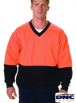 DNC HiVis Cotton Fleecy Sweat Jumper