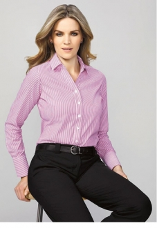 40210 Vermont Ladies Long Sleeve Shirt