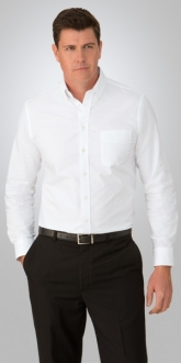 4255CC1 Mens Oxford Shirt LS Larger