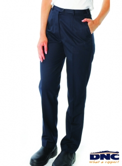 4552 DNC Ladies Permanent Press Flat Front Pants