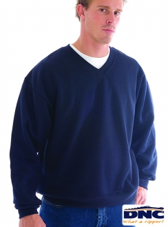 5301 DNC V-Neck Fleecy SweatShirt