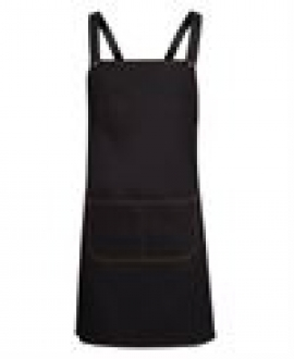 5ACBD Cross Back Denim Apron