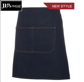 5ADW Waist Denim Apron includes Straps