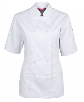 5CVS1 Ladies Vented Chef Jacket SS
