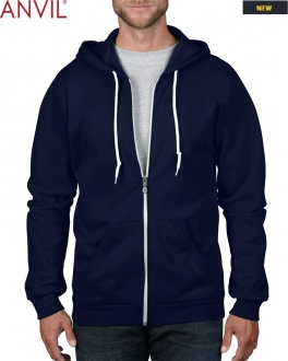 71600 Adult Full Zip Hooded Fleece