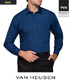 A101 Mens Easy Care Poplin Shirt L/S