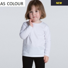AS3007 Kids Long Sleeve Tee