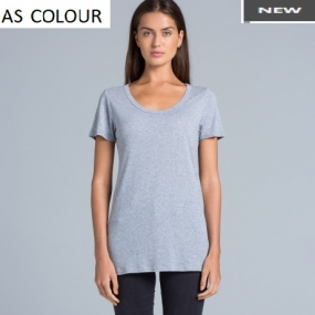 AS4011 Shutter Tee Ladies