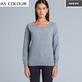 AS4016 Slouch Crew Ladies
