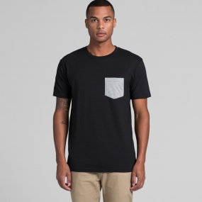 AS5010 Mens Staple Pocket Tee