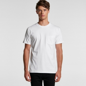 AS5027 Mens Classic Pocket Tee