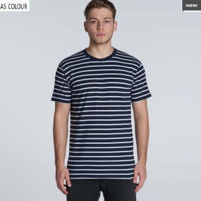 AS5028 Mens Staple Stripe Tee