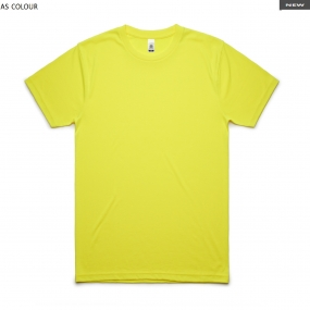 AS5050F Block Tee Safety Colors Men