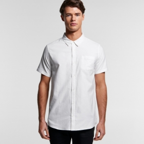 AS5407 Mens Oxford Shirt S/S
