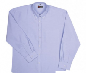 B385LS Oxford Shirt Mens LS