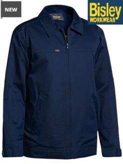 BJ6916 Drill Jacket with Liquid repellant finish
