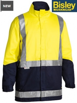 BJ6970T Hi Vis 3 in 1 Drill Jacket 3M Taped