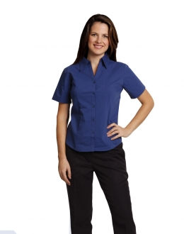 BS07SL Ladies Teflon Executive Shirt Larger Size SS