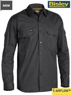 BS6414 X Airflow Ripstop Shirt LS