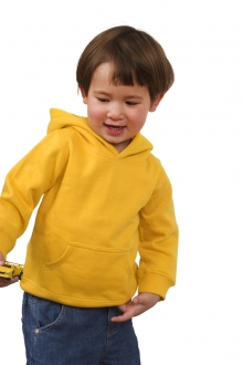 Babies Cotton/Poly Fleece Hoodie