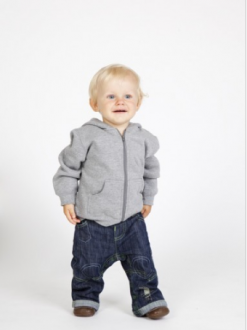 Baby Zip Through Hoodie