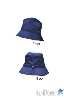 Bucket Hat With Sandwich & Toggle