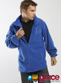 Mens Burleigh 100% Polyester Low Pill Fleece Jacket