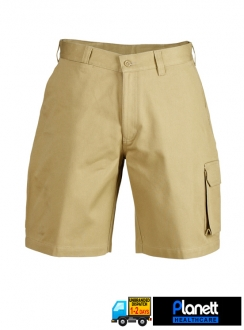 Cargo Cotton Drill Shorts