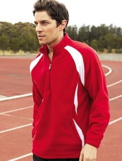 CJ1050 1/2 Zip Sports Fleece Pullover Unisex