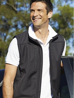 CJ1303 Soft Shell Vest Mens