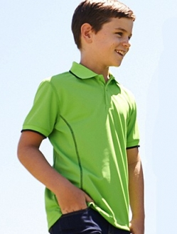CP0930 Stitch Essentials Kids Polo SS