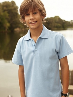 CP822 Kids Basic Polo