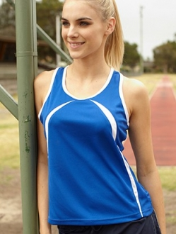 CT0757 Breezeaway Singlet Ladies